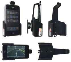Apple IPhone 3GS - Brodit Passive Car Cradle Holder With Tilt Swivel (# 511041)