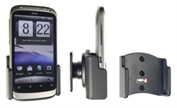 HTC Desire S - Brodit Passive Car Cradle Holder With Tilt Swivel (# 511251)