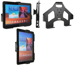 Samsung Galaxy Tab 2 10.1 - Brodit Passive Car Cradle Holder With Tilt Swivel (# 511329)