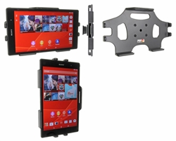 Sony Xperia Z3 Tablet Compact - Brodit Passive Car Cradle Holder With Tilt Swivel (# 511692)