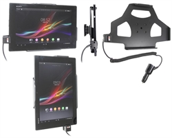 Sony Xperia Tablet Z - Brodit Active Car Cradle Holder With Cig-Plug (# 512538)
