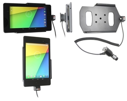 Asus Google Nexus 7 (2013) - Brodit Active Car Cradle Holder With Cig-Plug (# 512560)