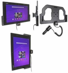 Sony Xperia Z2 Tablet - Brodit Active Car Cradle Holder With Cig-Plug (# 512655)