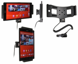 Sony Xperia Z3 Tablet Compact - Brodit Active Car Cradle Holder With Cig-Plug (# 512692)
