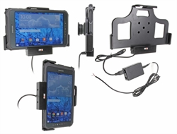 Samsung Galaxy Tab Active 8.0 SM-T365 - Brodit Active Car Cradle Holder For Fixed Installation (# 513697)