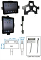 Apple IPad - Brodit Car Cradle Holder For Cable Attachment (# 514139)