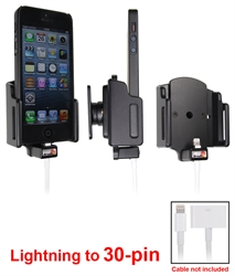 Apple IPhone 5 - Brodit Car Cradle Holder For Cable Attachment (# 514438)