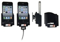 Apple IPhone 4 - Brodit Car Cradle Holder With Pass-Through Connector (# 516164)