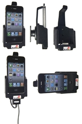 Apple IPhone 4 - Brodit Car Cradle Holder With Pass-Through Connector (# 516170)