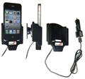 Apple IPhone 4 - Brodit Active Car Cradle Holder With Cig-Plug (# 521164)