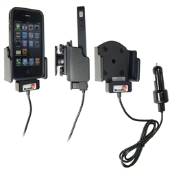 Apple IPhone 4 - Brodit Active Car Cradle Holder With Cig-Plug (# 521165)