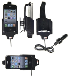 Apple IPhone 4 - Brodit Active Car Cradle Holder With Cig-Plug (# 521170)