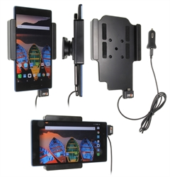 Lenovo Tab 3 7 - Brodit Active Car Cradle Holder With USB-Cable And Cig-Plug Adapter (# 521938)