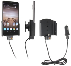 Huawei Mate 9 - Brodit Active Car Cradle Holder With USB-Cable And Cig-Plug Adapter (# 521946)