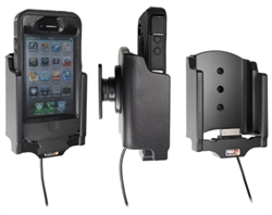 Apple IPhone 4 - Brodit Active Car Cradle Holder For Fixed Installation (# 527378)