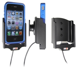 Apple IPhone 4 - Brodit Active Car Cradle Holder For Fixed Installation (# 527379)