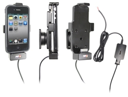 Apple IPhone 4 - Brodit Active Car Cradle Holder For Fixed Installation (# 527410)