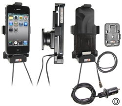 Apple IPhone 4 - Brodit Car Cradle Holder With External Antenna Connection (# 548400)