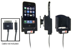 Apple IPhone 3G - Brodit Car Cradle Holder For Cable Attachment (# 915297)