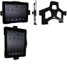 Holder With Pass-Through Connector for Apple IPad