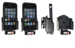Holder With Pass-Through Connector for Apple IPhone 4
